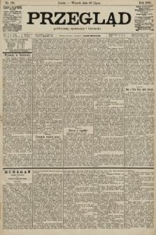 Przegląd polityczny, społeczny i literacki. 1901, nr173
