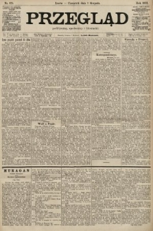 Przegląd polityczny, społeczny i literacki. 1901, nr175