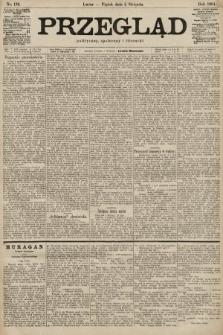 Przegląd polityczny, społeczny i literacki. 1901, nr176