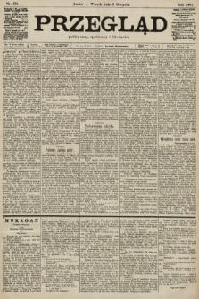 Przegląd polityczny, społeczny i literacki. 1901, nr179