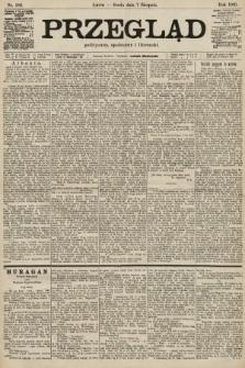 Przegląd polityczny, społeczny i literacki. 1901, nr180