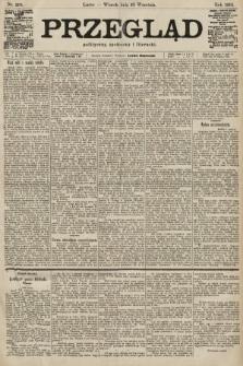 Przegląd polityczny, społeczny i literacki. 1901, nr208