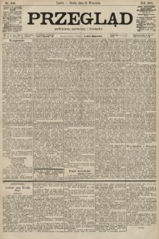 Przegląd polityczny, społeczny i literacki. 1901, nr209