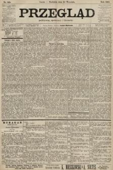 Przegląd polityczny, społeczny i literacki. 1901, nr225