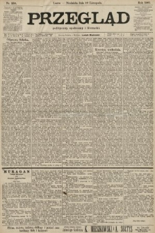 Przegląd polityczny, społeczny i literacki. 1901, nr260