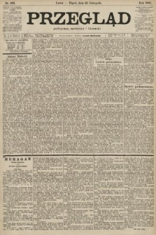 Przegląd polityczny, społeczny i literacki. 1901, nr276