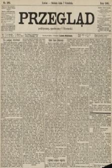 Przegląd polityczny, społeczny i literacki. 1901, nr283