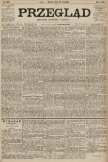 Przegląd polityczny, społeczny i literacki. 1901, nr288