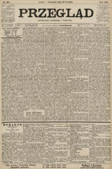 Przegląd polityczny, społeczny i literacki. 1901, nr293
