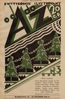 Od A do Z : dwutygodnik ilustrowany. 1926, nr 3
