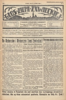 Głos Ziemi Żywieckiej : tygodnik społeczno-narodowy. 1928, nr8