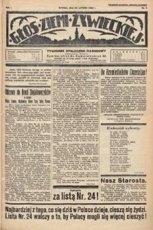 Głos Ziemi Żywieckiej : tygodnik społeczno-narodowy. 1928, nr9