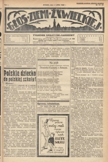 Głos Ziemi Żywieckiej : tygodnik społeczno-narodowy. 1928, nr24-27