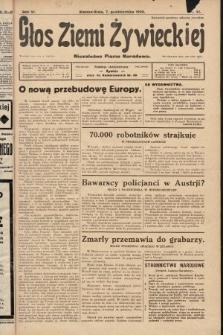 Głos Ziemi Żywieckiej : niezależne pismo narodowe. 1928, nr41