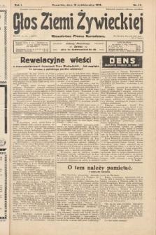 Głos Ziemi Żywieckiej : niezależne pismo narodowe. 1928, nr46