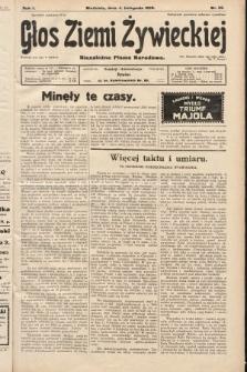 Głos Ziemi Żywieckiej : niezależne pismo narodowe. 1928, nr52