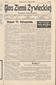 Głos Ziemi Żywieckiej : niezależne pismo narodowe. 1928, nr55