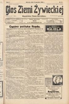 Głos Ziemi Żywieckiej : niezależne pismo narodowe. 1928, nr67