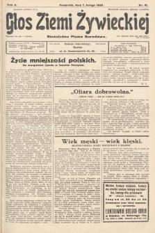 Głos Ziemi Żywieckiej : niezależne pismo narodowe. 1929, nr16