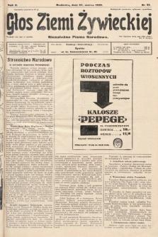 Głos Ziemi Żywieckiej : niezależne pismo narodowe. 1929, nr35