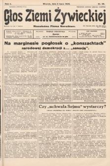 Głos Ziemi Żywieckiej : niezależne pismo narodowe. 1929, nr68