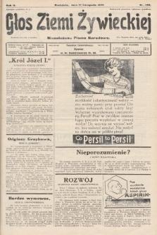 Głos Ziemi Żywieckiej : niezależne pismo narodowe. 1929, nr105