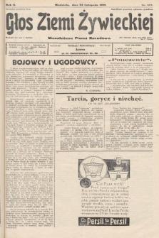Głos Ziemi Żywieckiej : niezależne pismo narodowe. 1929, nr107