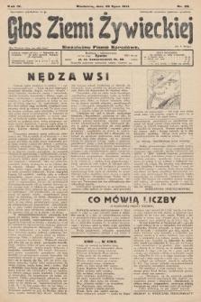 Głos Ziemi Żywieckiej : niezależne pismo narodowe. 1931, nr33