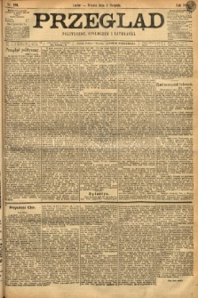 Przegląd polityczny, społeczny i literacki. 1898, nr180