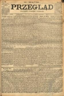 Przegląd polityczny, społeczny i literacki. 1898, nr186