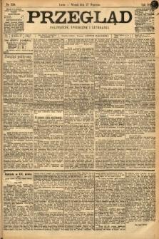 Przegląd polityczny, społeczny i literacki. 1898, nr220