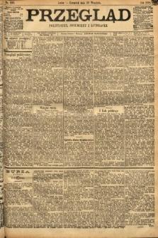 Przegląd polityczny, społeczny i literacki. 1898, nr222