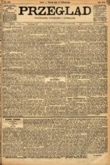 Przegląd polityczny, społeczny i literacki. 1898, nr231