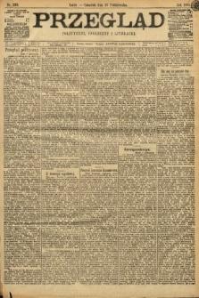 Przegląd polityczny, społeczny i literacki. 1898, nr239