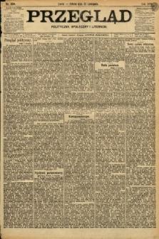 Przegląd polityczny, społeczny i literacki. 1898, nr258