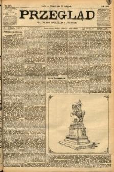 Przegląd polityczny, społeczny i literacki. 1898, nr266