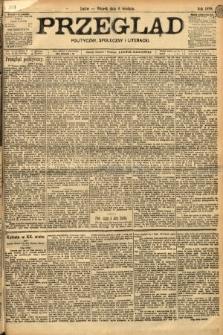 Przegląd polityczny, społeczny i literacki. 1898, nr278