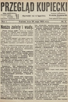 Przegląd Kupiecki. 1919, nr5