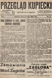Przegląd Kupiecki. 1919, nr6