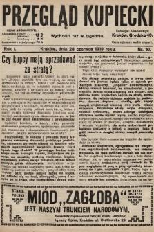 Przegląd Kupiecki. 1919, nr10