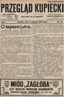 Przegląd Kupiecki. 1919, nr15