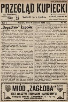 Przegląd Kupiecki. 1919, nr17