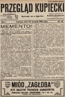 Przegląd Kupiecki. 1919, nr19
