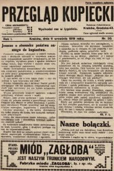 Przegląd Kupiecki. 1919, nr20