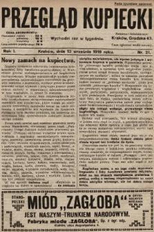 Przegląd Kupiecki. 1919, nr21