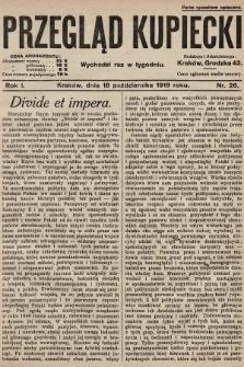 Przegląd Kupiecki. 1919, nr26