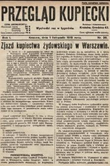 Przegląd Kupiecki. 1919, nr28