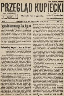 Przegląd Kupiecki. 1919, nr31