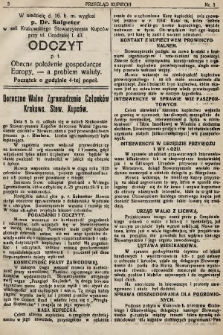 Przegląd Kupiecki : organ Krakowskiego Stowarzyszenia Kupców. 1921, nr3