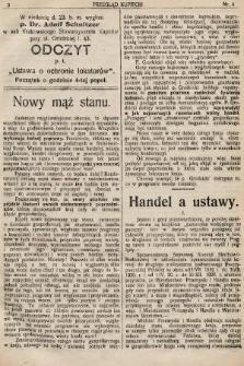 Przegląd Kupiecki : organ Krakowskiego Stowarzyszenia Kupców. 1921, nr4